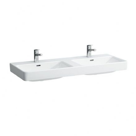814966 - Laufen Pro S 1200mm x 460mm Double Washbasin - 8.1496.6